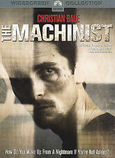 The Machinist DVD Movie 2004 Widescreen Collection Christian Bale -Good