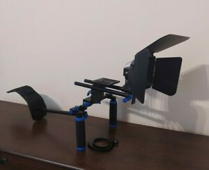 Neewer DSLR Shoulder Rig Video Making System with Follow Focus