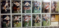LOT 11  CARDS UPPER DECK RIVER PLATE TEAM FROM ARGENTINA 1995