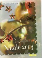 ITALIA - FOLDER 2003 - NATALE- VALORE FACCIALE € 11,00 sconto 30%