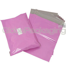 """50 x STRONG PINK 13x17"""" MAILING POSTAL POLY POSTAGE BAGS 13""""x17"""" (320x440mm)"""