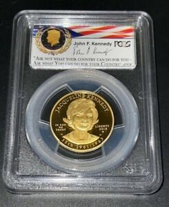 2015-W First Strike First Spouse Gold Jacqueline Kennedy PCGS PR70DCAM Proof