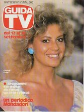 rivista GUIDA TV ANNO 1982 NUMERO 36 DANIELA POGGI