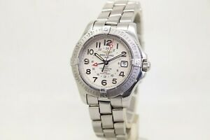 Breitling Colt GMT, 41mm Automatic Bracelet Watch, Ref, A32350, Box & Papers