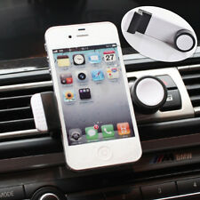 Car Air Vent Outlet White Phone Bracket Clip Holder Mount for iPhone for Audi
