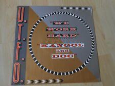 "U.T.F.O.  We Work Hard / Kangol & Doc  1986 12"""