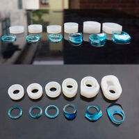 6 Pcs DIY Silicone Mold Jewelry Ring Resin Casting Mould Handmade Craft Tool