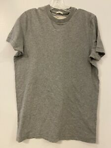 Abercrombie&Fitch Men's Super Soft Unprinted Muscle T-shirt Medium Gray Small