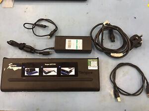 10 x Targus ACP71EU USB 3.0 Docking Station with Power Supply