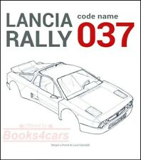 Lancia 037 Book Rally Montecarlo Scorpion Abarth Limone Gastaldi(Fits: Lancia)