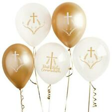 5 Holy Communion Balloons, First Communion Decorations