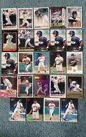 Brian Hunter Baseball Card Mixed Lot approx 33 cards