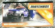 🚘 MATCHBOX Metal City MBX GARBAGE SCOUT Die Cast Collectible 10/100 L@@K! 🔥