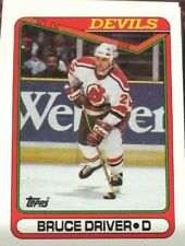 1990 Topps Hockey #172 Bruce Driver - Many Sports Card Available