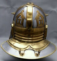 Medieval Steel & Brass Roman Gallic/Centurian Ancient Helmet Replica Great