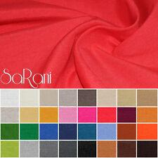 Tessuto cotone al Metro Tinta Unita Vari Colori h.280cm Tappezzeria tende SARANI