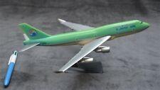 KOREAN AIRLINES 747 snap fit airplane model die cast WOOSTER HERPA WING HOGAN ax