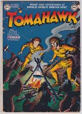 Tomahawk #1 G-G+ 2.25 DC Western First Issue 1950!-