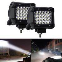 "IP68 200W 4"" LED Work Light Bar Spotlight Off-road Driving Fog Lamp Truck Boat"