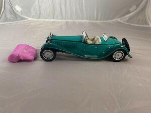 Franklin Mint 1:24 1929 Bugatti Royal Type 41 Green