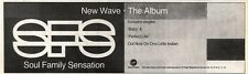 "2/11/91 Pgn10 Advert: Soul Family Sensation new Wave Album On Virgin 3x11"""