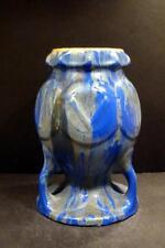 "Belgium, Faiencerie Thulin Art Pottery Multi-color Vase, Shape 377, 9"""