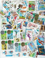 Worldwide Collection of 300 Different Olympics Stamps