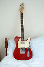 Fender Squier Telecaster standard in Candy Apple Red