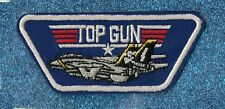 Top Gun embroidery patch