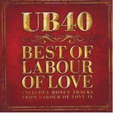 UB40 - BEST OF LABOUR OF LOVE  CD 17 TRACKS POP / REGGAE COMPILATION NEW+