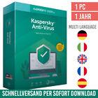 Kaspersky Anti-Virus 2021 - 1 Gerät - 1 Jahr - Antivirus 2021 - ESD <br/> 24h-Kunden-Support✔ Rechnung✔ DE-Händler✔ Anleitung✔