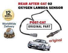 FOR TOYOTA MR2 2000-2007 NEW REAR LOWER POST CAT EXHAUST O2 OXYGEN LAMBDA SENSOR