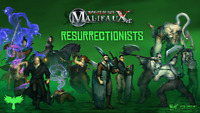 WYRD MINIATURES - MALIFAUX - RESURRECTIONISTS - VARIOUS CHARACTERS