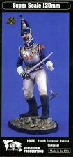 Verlinden 1:16 120mm French Cuirassier Russian Campaign Resin Figure Kit #1920
