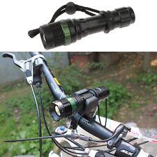 Fahrrad Bike 3000LM Q5 LED Taschenlampe Wasserdicht Zoombar Scheinwerfer Lamp