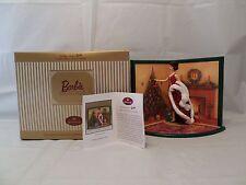 Hallmark Holiday Voyage Barbie Card Display Figurine