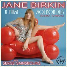 "7"" JANE BIRKIN Je t'aime moi non plus GAMMA Mexico NUR COVER! (Only Sleeve)"