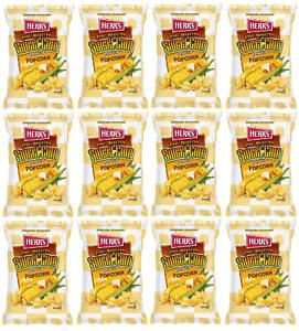 Herr's Fire Roasted Sweet Corn Popcorn .875 oz. (Pack of 12, Total of 10.5 oz.)