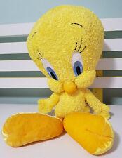 WARNER BROS LOONEY TUNES TWEETY BIRD PLUSH TOY! SOFT TOY APPROX 30CM SEATED!