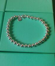 Ball Bracelet / Bangle / anklet 925 Stamped Silver lady men girl friend gift +bg