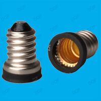 4x Small Screw SES E14 To Candelabra CES E12 Light Bulb Adaptor Converter Holder