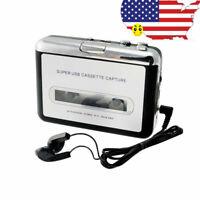 USB Cassette Tape to MP3 iPod CD Converter Capture Audio Music Player Walkman