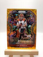 2020 Panini Prizm Joe Burrow RC #307 Orange LAZER Prizm Bengals Rookie 🔥 New