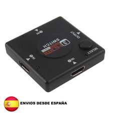 Switch multipuerto HDMI 1.4 de 3 puertos 1080P splitter ladron  para PS3 PS4 HDT