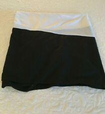 Queen Size Black Corner-Pleat Bedskirt Preowned EUC