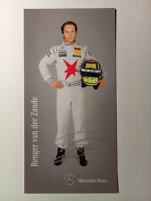 Renger van der Zande - Autogramm / Autogrammkarte - Mercedes-Benz - DTM 2011