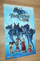 Blue Dragon Plus / Naruto Shippuden Ultimate Ninja Storm 4 small Poster 42x28cm