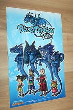 Blue Dragon Plus / Naruto Shippuden Ultimate Ninja Storm 4 small Poster 42x28cm