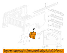 GM OEM Pick Up Box Bed-Deflector Right 23346481