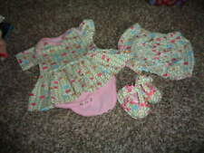 BOUTIQUE OILILY 62 DRESS ONEPIECE BLOOMERS AND SHOES SET 16-19